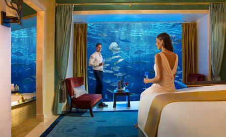 Unterwassersuite im Hotel Atlantis in Dubai