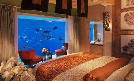 Unterwasser-Suite im Hotel Atlantis in Dubai