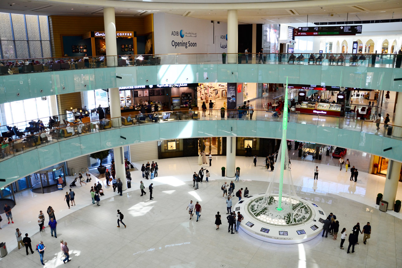 Dubai Mall – Das Shoppingcenter der Superlative