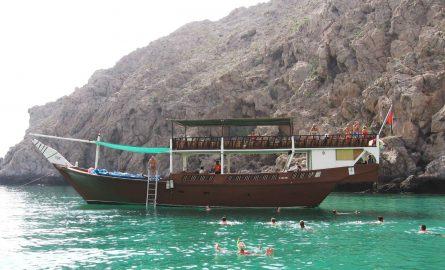 Musandam Tour mit Dhau-Fahrt