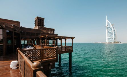 The Pierchic Restaurant auf einem Pier in Dubai