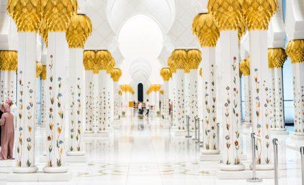 Scheich Zayed Moschee Säulen