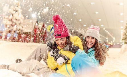 Ob Rutschen, Skifahren, Snowboarden - durch günstige Tickets für Ski Dubai ist alles möglich