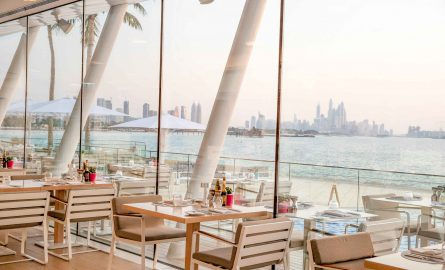 Bab al Yam Restaurant am Pool des Burj al Arab in Dubai