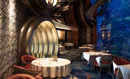 Aquarium Restaurant al Mahara im Burj al Arab in Dubai