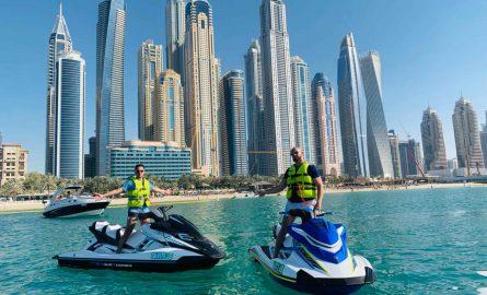 Jet Ski Tour vor Dubai Marina