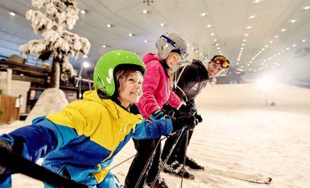 Die Ski Dubai Halle