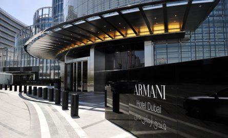 Armani Hotel im Burj Khalifa
