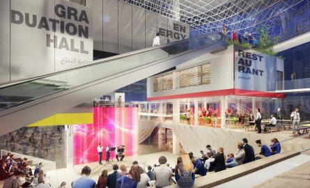 Deutsche Halle auf der Expo 2020 in Dubai