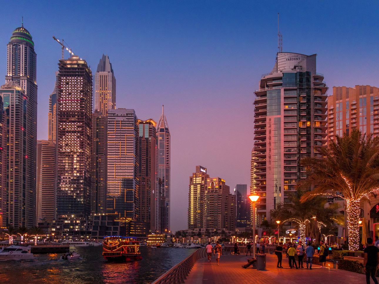 Dubai Marina Ferienwohnungen