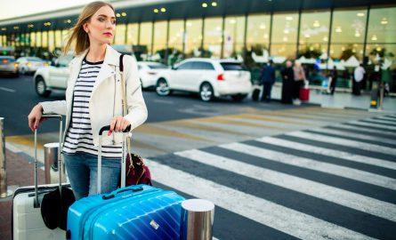 Ankommen am Flughafen in Dubai