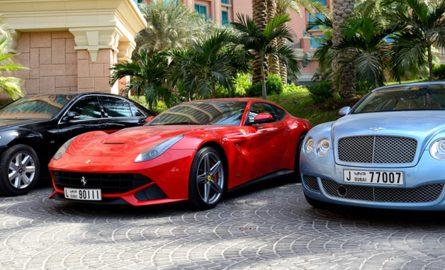 Sportwagen mieten in Dubai