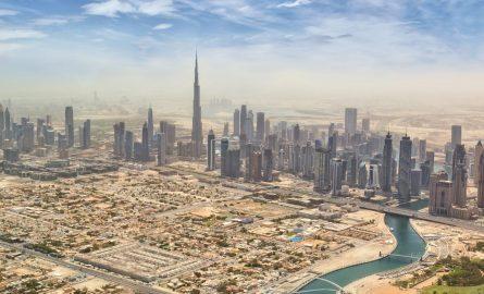 Stadtviertel von Dubai