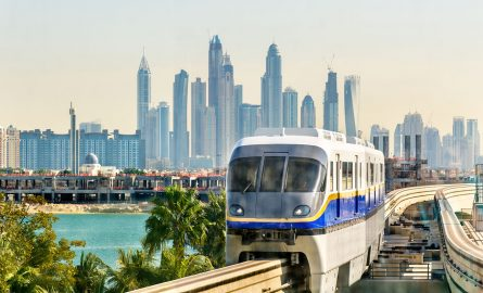 Öffentliche Verkehrsmittel in Dubai