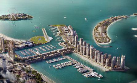 Lage des Dubai Harbours