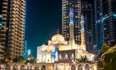 Moschee in Dubai Marina