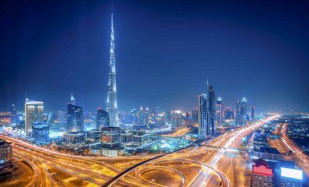 Burj Khalifa Ticket bei Nacht