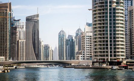 Fotoshooting in Dubai Marina